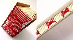 canteiro de alfaces - livros artesanais: encadernações