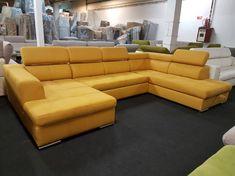 350.000.- Watch U-form ülőgarnitúra: modern, rugós ülőfelületű, ágynak nyitható ülőgarnitúra, opcionálisan választható nagy méretű, felnyíló ágyneműtartóval, fokozatosan állítható racsnis fejtámlákkal.   RENDELHETŐ TÖBBFÉLE MINŐSÉGŰ SZÖVET ÉS TEXTILBŐR BEVONÓVAL, JOBBOS ÉS BALOS KIVITELBEN EGYARÁNT. AZ ÜLŐGARNITÚRA ÁRA SZÖVET TÍPUSOK SZERINT VÁLTOZIK. Sofa, Couch, Lucca, Santorini, Living Room Decor, Sweet Home, Furniture, Home Decor, Drawing Room Decoration