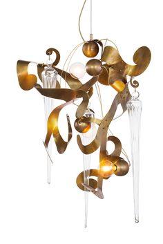Kelp Fortuna, lighting design by William Brand of Brand van Egmond Modern Lighting, Lighting Design, Pendant Lamp, Pendant Lighting, Contemporary Chandelier, Chandeliers, Light Fixtures, Lamps, Ceiling Lights