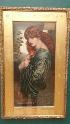 Rossetti, Proserpine Birmingham Museum, Frame, Painting, Home Decor, Art, Picture Frame, Art Background, Decoration Home, Room Decor