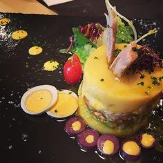 Causa limeña un plato peruano  buenísimo y encima sano! #peruano #comidaperuana #causalimeña #healthyfood #healthy #yummy #galicia #coruña #mantelacuadros cuadros