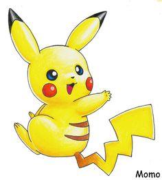 Pikachu by Momogirl on DeviantArt