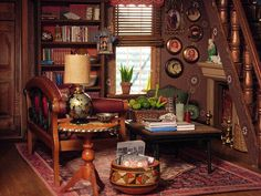 Awesome Dollhouse: Living room afternoon by amyla174, via Flickr