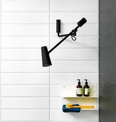 Closer, design Diego Grandi per Zucchetti Kos. Soffione doccia che richiama l'estetica di una lampada. living.corriere.it