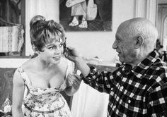 Brigitte Bardot era la musa de Pablo Picasso