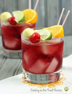 Psst...red wine slows aging and increases longevity! Not that you need an excuse to consume this delicious red apple Sangria!