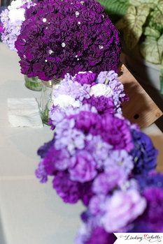 Wedding, Flowers, Purple....Purple, purple, purple! I'm loving it!