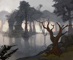 TES art,The Elder Scrolls,фэндомы,Morrowind,pastwiska,Shagan-fury