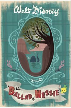 Vintage Disney - The Ballad of Nessie