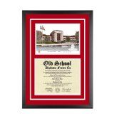 University of Houston Texas Diploma Frame with UH Lithograph Art PrintBy Old School Diploma Frame Co.