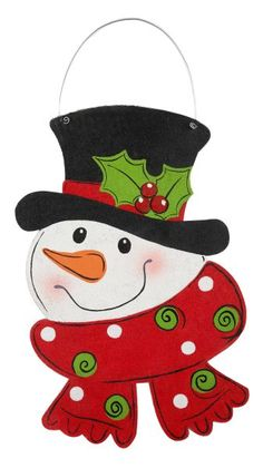 In case I ever need to paint a snowman, now I have a guide Christmas Rock, Christmas Canvas, Christmas Snowman, Christmas Ornaments, Burlap Projects, Burlap Crafts, Christmas Drawing, Christmas Paintings, Snowman Crafts
