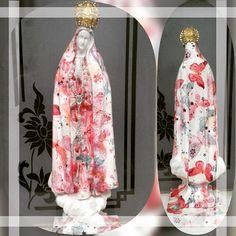 Presente @arteszita lindo e abençoado: Nossa Senhora de Fátima com estampas de borboletas. Amei!  #vivavoucasar #casamento #weddinginspiration #wedding #casar #bride #bridal #ido #weedibglovers #inspiration #noiva #noivas #noiva2016 #noiva2017 #noivo #ideiasparacasamento #inspiracaocasamento #vestidodenoiva #madrinhadecasamento #brides #weddingdress #savethedate #arteszita