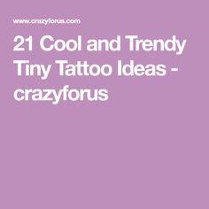 21 Cool and Trendy Tiny Tattoo Ideas - crazyforus Tiny Tattoo, Get A Tattoo, New Tattoos, Small Tattoos, Sunflower Tattoo Small, First Tattoo, Artworks, Tattoo Ideas, 21st