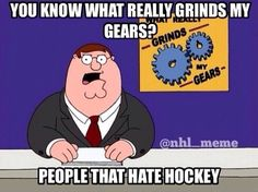 Hating Hockey is a Crime!
