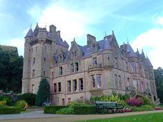 Castillo de Belfast en Cavehill Country Park, Belfast, Irlanda del Norte, Reino Unido. El primero se construyó en el siglo XII, el segundo en 1611 y el tercero en 1870 (Restaurado en 1988).