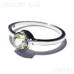 14k White Gold Green Peridot Gemstone Wedding Band Bands Engagement Ring Rings Jewelry Jewellery SSR-558
