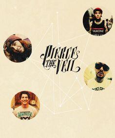 Pierce the Veil logo | Pierce the Veil | Pinterest | Get ...