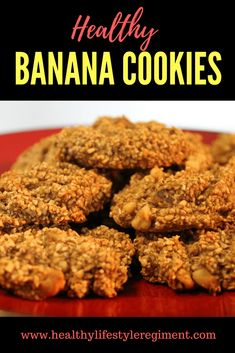 Make Healthy Banana Cookies. Find out How to make a sugar free, dairy free, flour free healthy cookie using bananas and applesauce. Get the recipe from The Healthy Lifestyle Regiment. Beef Recipes Kid Friendly, Kid Friendly Meals, Diabetic Friendly, Vegan Friendly, Recipes Using Bananas, Banana Recipes, Healthy Cookies, Healthy Snacks, Healthy Recipes