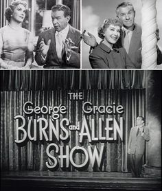 The George Burns and Gracie Allen Show premiered on CBS on October 12, 1950 and ran through 1958 (291 episodes).