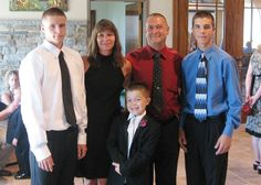 The entire Richardson family