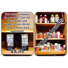 Get the best health and wellness from IDLife. This is the future of the health and wellness industry. Try it for yourself!