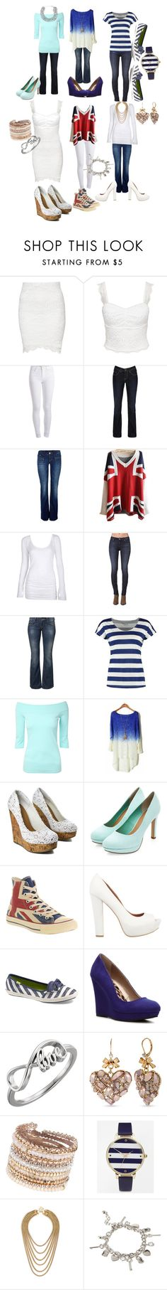 """""""Untitled #80"""" by lewebbz12 ❤ liked on Polyvore featuring Oneness, Pieces, Bench, ONLY, Bullhead Denim Co., LTB by Little Big, TWINTIP, Jane Norman, Converse and SPURR"""
