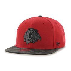 Chicago Blackhawks Countershot Snapback Hat by '47 Brand | SportsWorldChicago.com  #ChicagoBlackhawks