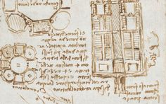 Leonardo Da Vinci's Notebooks Digitized
