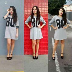 T shirt Dress com número♡