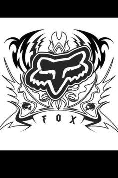Single Black No Size Fox Racing Fox Victory Sticker 2 inch Small