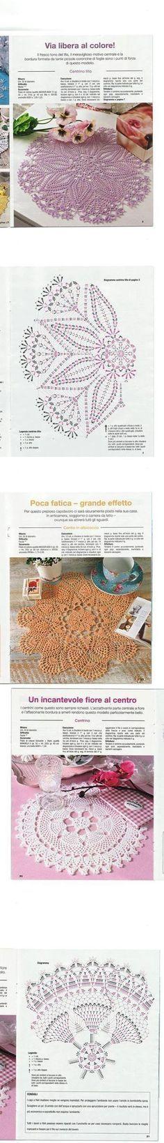 Mejores 56 imágenes de cestas crochet endurecidas en Pinterest en ...
