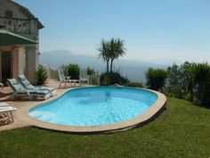 Peace & Wonderful Views only 20 Mins from the Coast. Villa Hardy is located in St Jeannet very near Vence, St Paul de Vence and only 20 minutes from the Riviera coast (Nice, Antibes, Monaco etc). Behind the villa to the north is the spectacular Baou de St Jeannet and some wonderful walking country.  #holiday #Provence #property #villa #pool #garden #views #beautiful #village #peaceful #countryside #coast #enjoy #summer