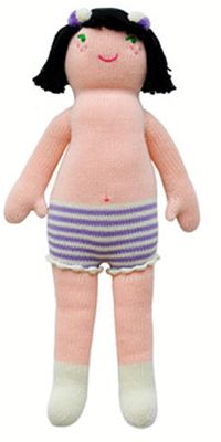 Blabla dolls are fair trade, and among our favorites--and now on huge sale at Kangarooboo.
