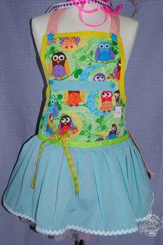 owl apron #owls #sewing http://www.modes4u.com/en/cute/c221_Owl-Fabric.html