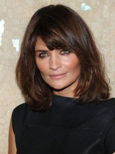 medium length haircuts for thick hair and round faces ...
