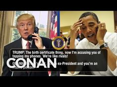 CONAN Highlight: President Trump reveals the real reason he wants to go forward with a full investigation into his wiretap claim. More CONAN @ http://teamcoc...