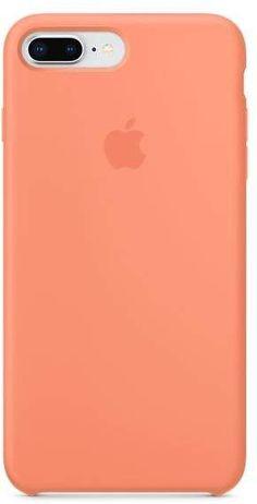 Apple iPhone 8 Plus   7 Plus Silicone Case - Peach  iphone8plus Iphone 10 5382e99d353bf