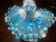 Frozen Tutu frozen birthday tutu Frozen by Glamourousheadband
