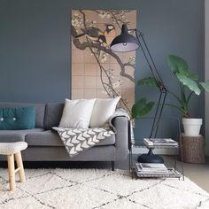 STIJLIDEE STYLING TIP: Haal het voorjaar in huis met de bloemrijke wanddecoratie van IXXI | Fotografie: IXXI Wanddecoratie via Lisanne van der Klift via www.stijlidee.nl