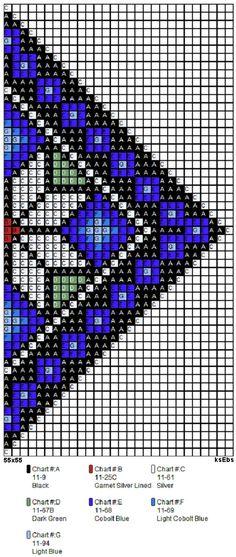 Nytt sett med perlemønster i gyldne toner. Cross Stitch Designs, Cross Stitch Patterns, Planner Doodles, Palestinian Embroidery, Native Beadwork, Bead Crochet Rope, Bead Loom Patterns, Tapestry Crochet, Peyote Stitch