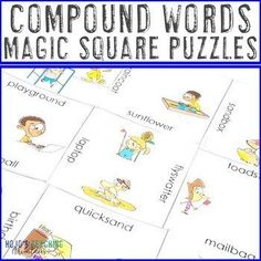 Compound Words Worksheet Alternative | Use in a Distance Learning Packet | 2nd, 3rd, 4th grade - Activities, Balanced Literacy, English Language Arts, Games, Homeschool, Literacy Center Ideas - Great fun and easy for the teacher! Get yours today!! (second, third, fourth graders, Year 2, 3, 4) 4th Grade Activities, Fun Activities, 3rd Grade Classroom, A Classroom, Compound Words, Balanced Literacy, Critical Thinking Skills, English Language Arts, Year 2