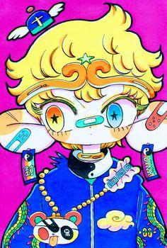 ARTIST: Jinx88 aka Gibumi Tomotaka (Japan)    ● See More Anime Inspired Art>   http://blog.yellowmenace.net/search/label/anime  #Yellowmenace #illustration #anime #manga #character