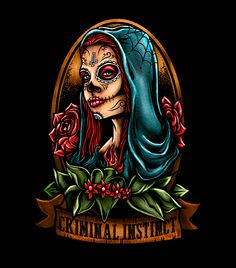 LADY SUGAR SKULL on Behance