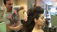 How To Create A Faux Hawk Tutorial For Women, For Medium And Long Hair, By Stuart Phillips