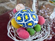 Polymer Clay Eggs #Easter #decorating #holiday