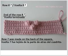 My Crochet , Mis Tejidos by Luna: Granny with a Puff Stitch Heart - Tutorial # 1 - First Part.who wants to be part of this tutorial? Xmas Trees, Crafty, Stitch, Crocheting, Tutorials, Blanket, Heart, Knitting And Crocheting, Tricot