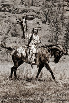 Native American and Appaloosa