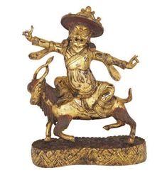 Tibet, Buddhism, 18th Century, Lion Sculpture, Scene, Bronze, Statue, Antiques, Vintage