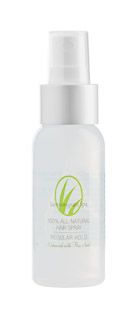 100% all natural formula. Holds well in a variety of climates and isn't sticky.  Smells terrific because it's enhanced with botanicals that are great for hair.  Enriched with Vitamin B-5 for strength.  Alcohol-free, non-drying formula.  Flax seed added for extra shine.   Ingredients: Aloe Vera Gel, Vegetable Glycerin, Panthenol B–5, Tocopherol (vitamin E oil), Flax Seed, Witch Hazel, Grapefruit Extracts, Bergamot Essential Oil, Sandalwood Essential Oil, Jojoba Oil.