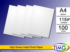 El papel Fotografico H115-a4 100 hojas tiene stock, Valor 3.656 con iva - http://www.suministro.cl/product_p/h115-a43.htm